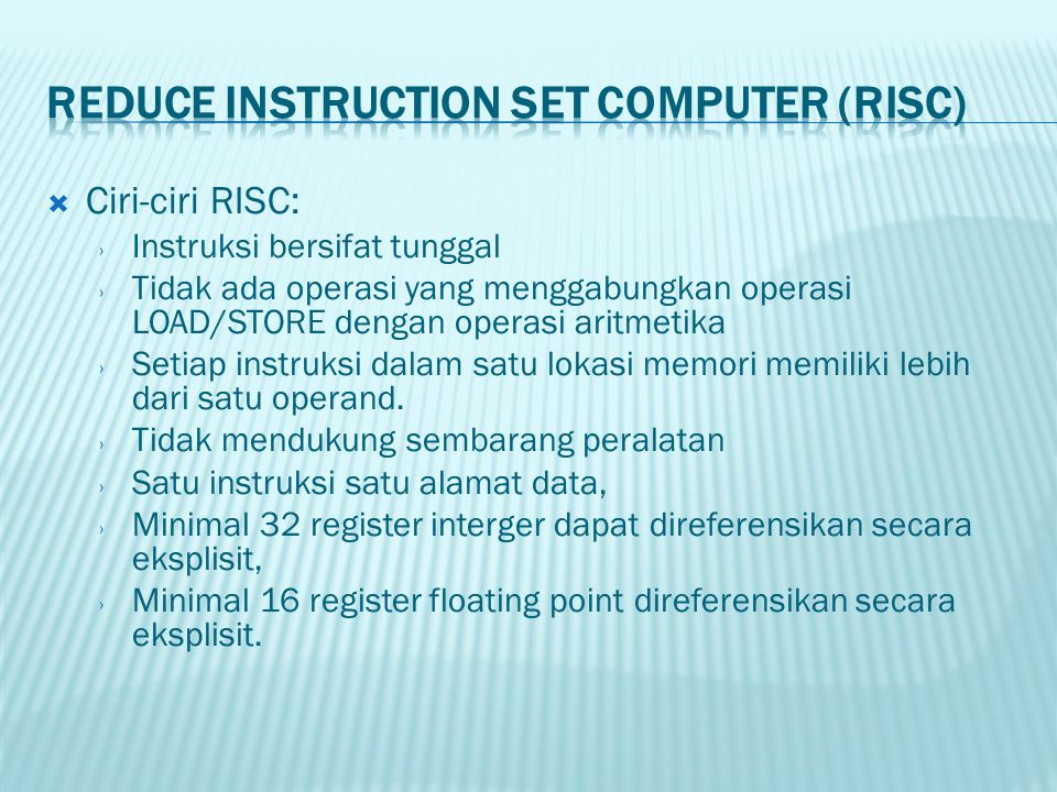  Contoh Indexed Addressing Mode: