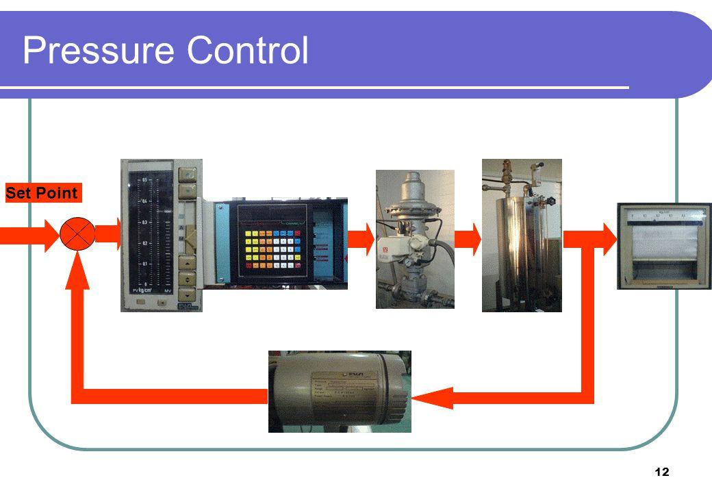 12 Set Point Pressure Control