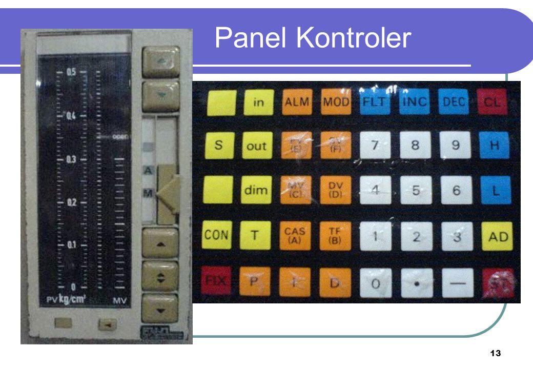 13 Panel Kontroler
