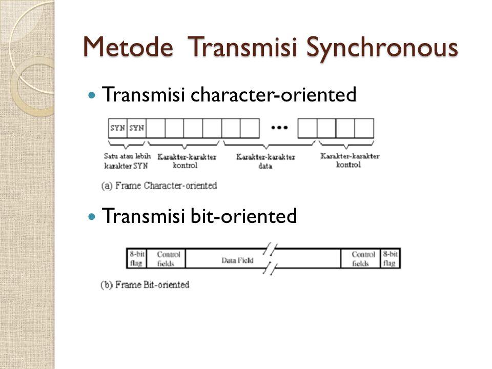 Parity Checks 'deteksi error paling sederhana' Even parity : jumlah dari binary 1 yang genap --> dipakai untuk transmisi asynchronous.