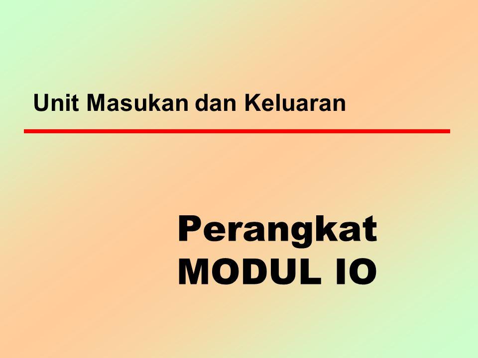 Klasifikasi berdasar arah data z Perangkat output z Perangkat input z Kombinasi output-input.