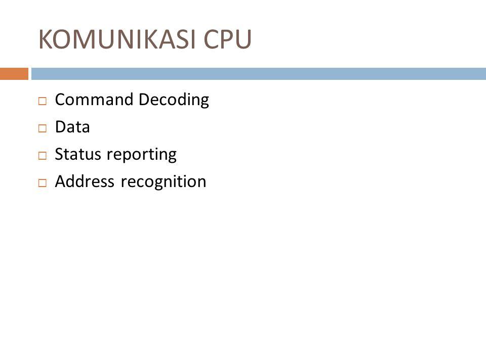 Direct Memory Access (DMA)  Direct Memory Access (DMA) adalah suatu metode transfer data dari memori komputer atau RAM ke suatu bagian dari komputer tanpa memprosesnya menggunakan CPU  Sebagian besar data yang merupakan input atau output dari komputer memang diproses di CPU, tetapi terdapat beberapa data yang tidak perlu diproses, ataupun dapat diproses oleh alat lainnya.
