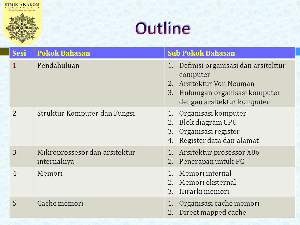  Pengendali & pengaturan waktu (control & timing).
