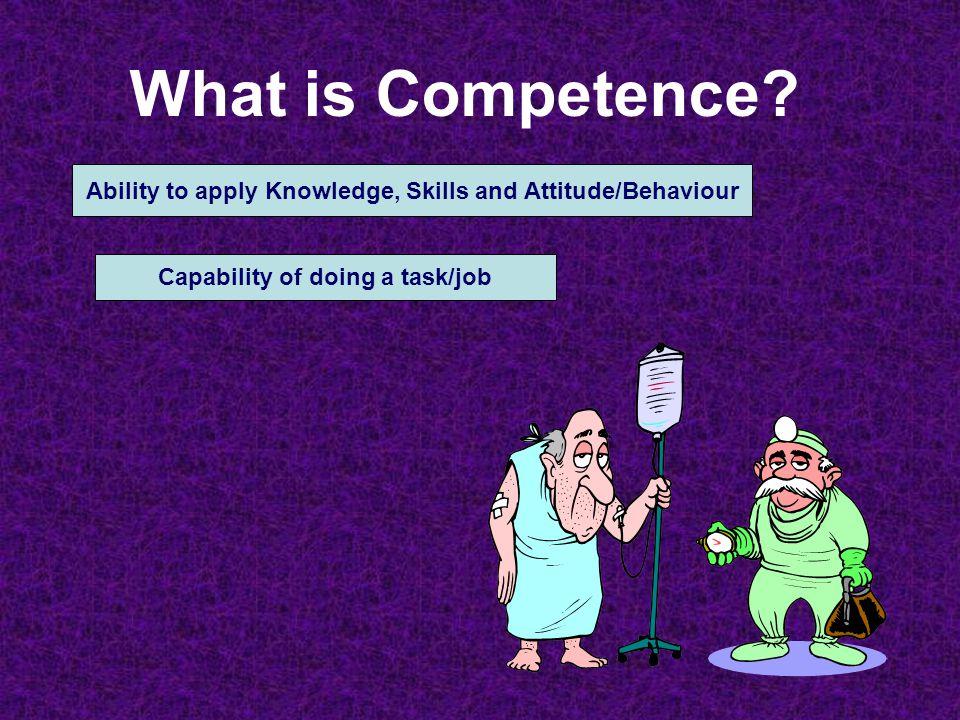 Perumusan Kompetensi 1.