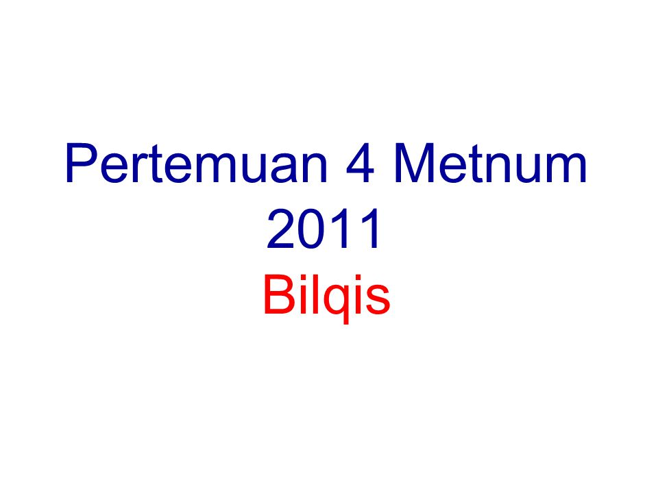 bilqis12 Perhatian