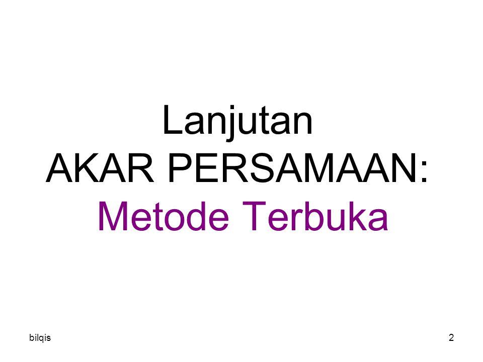 bilqis3 Berbedaan Akolade dan Terbuka M.