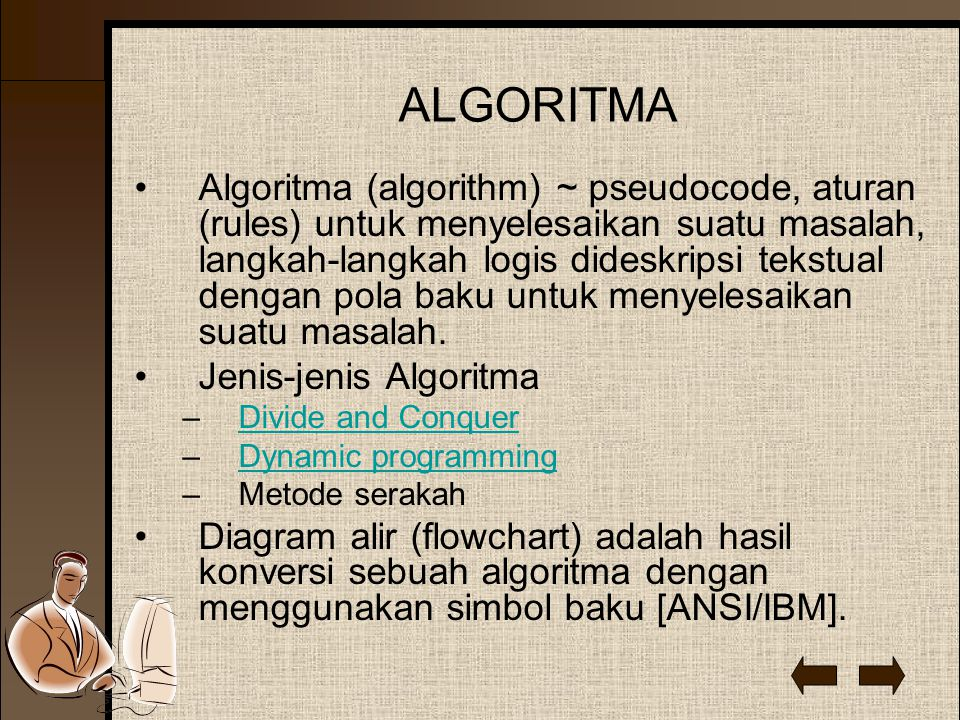 FLOW CHART Struktur baku flowchart : 1.Runtut (sequential / linear) 2.Alternatif / pilihan / seleksi (alternative / selection) 3.Berulang (loop / repetition)