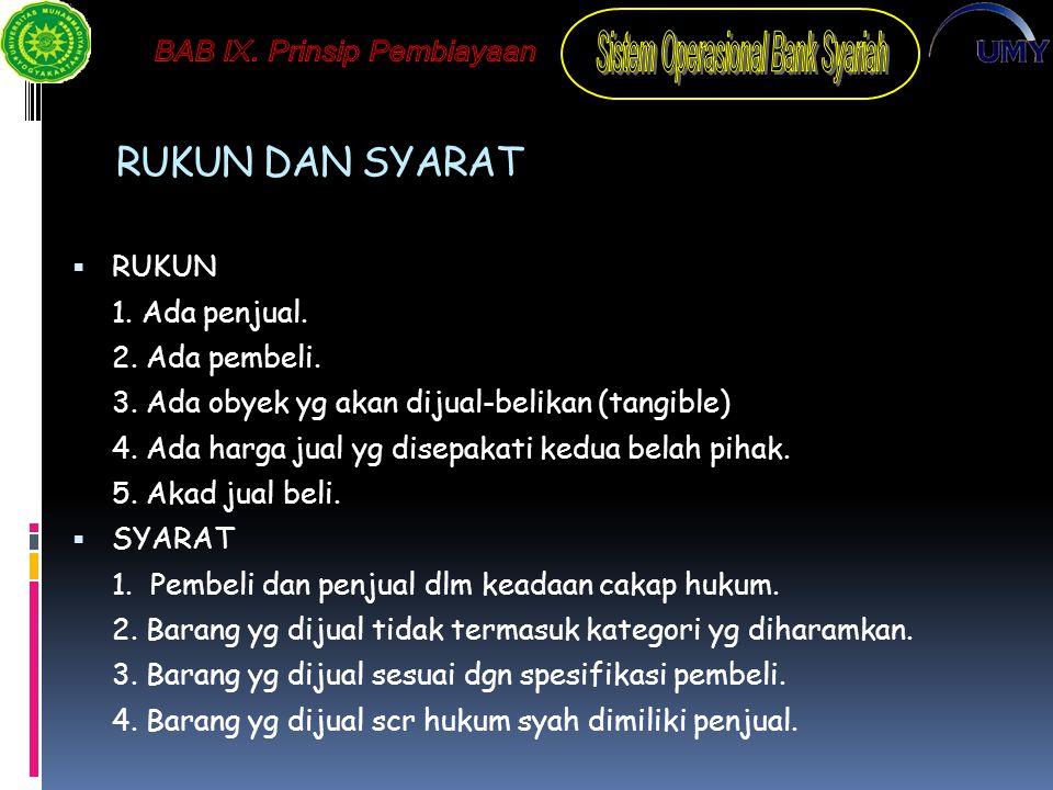 SKEMA IJARAH Penjual/ Supplier/ Pemilik Bank Syariah (Muajjir) Nasabah (Musta'jir) Obyek Sewa B.