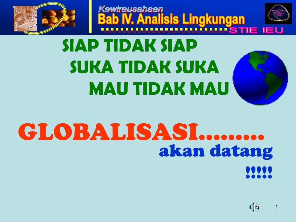 1 SIAP TIDAK SIAP SUKA TIDAK SUKA MAU TIDAK MAU GLOBALISASI……… akan datang !!!!!