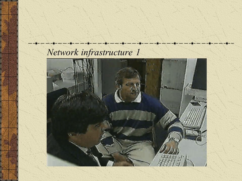 Network infrastructure 1