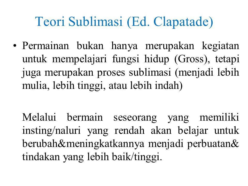 Teori Sublimasi (Ed.