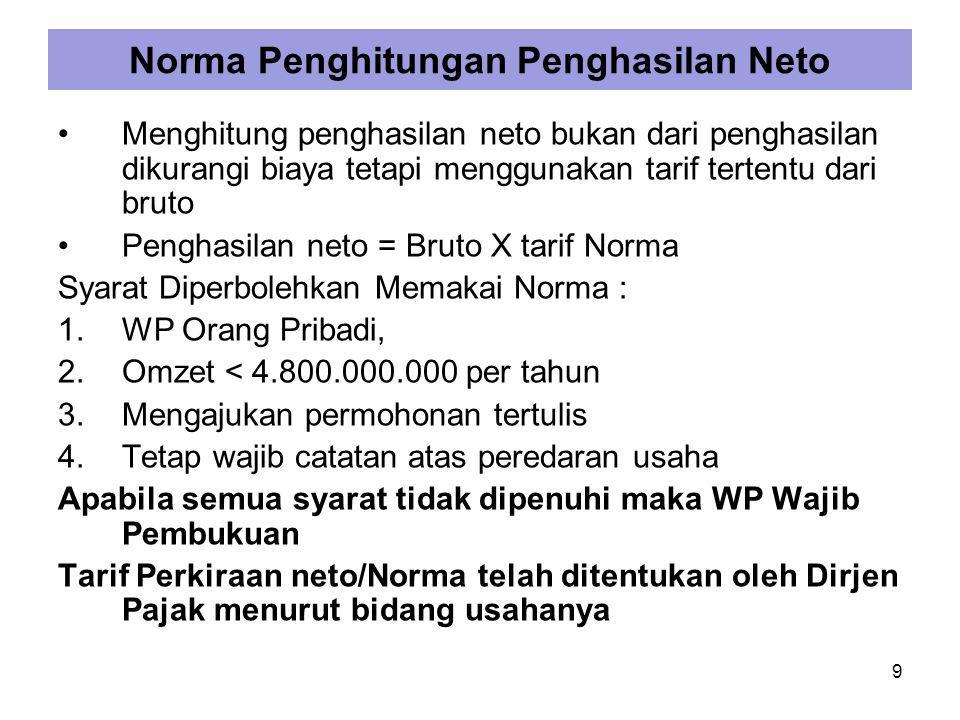 Contoh Penghitungan perkiraan/Norma Pak Narto adalah dokter hewan dan seorang montir.