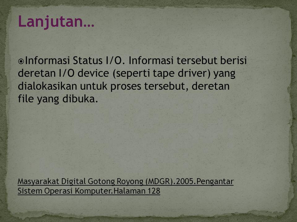 Keuntungan Cooperating a.Terjadi pembagian informasi b.