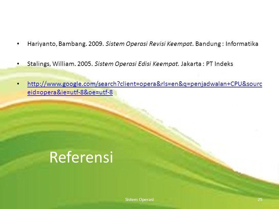 Sistem Operasi24 Multilevel Feedback Queue
