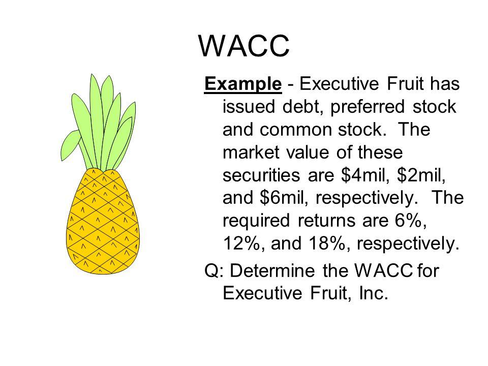Contoh: YTM suatu obligasi adalah 12% dan premi risiko untuk saham biasa perusahaan tersebut adalah 5%.