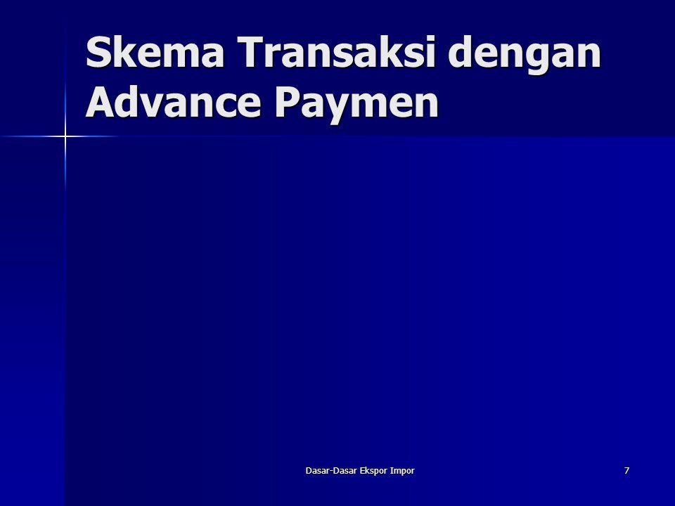 Dasar-Dasar Ekspor Impor7 Skema Transaksi dengan Advance Paymen
