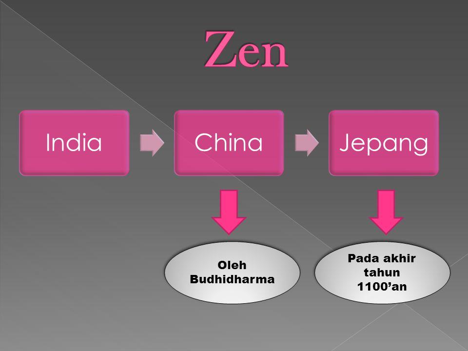 Hokushuzen Menekankan doktrin dan pertapaan Nanshuzen Menekankan keyakian ketenangan dalam diri sendiri lebih dari doktrin