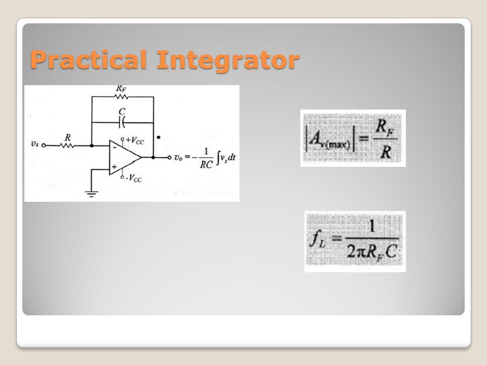 Practical Integrator