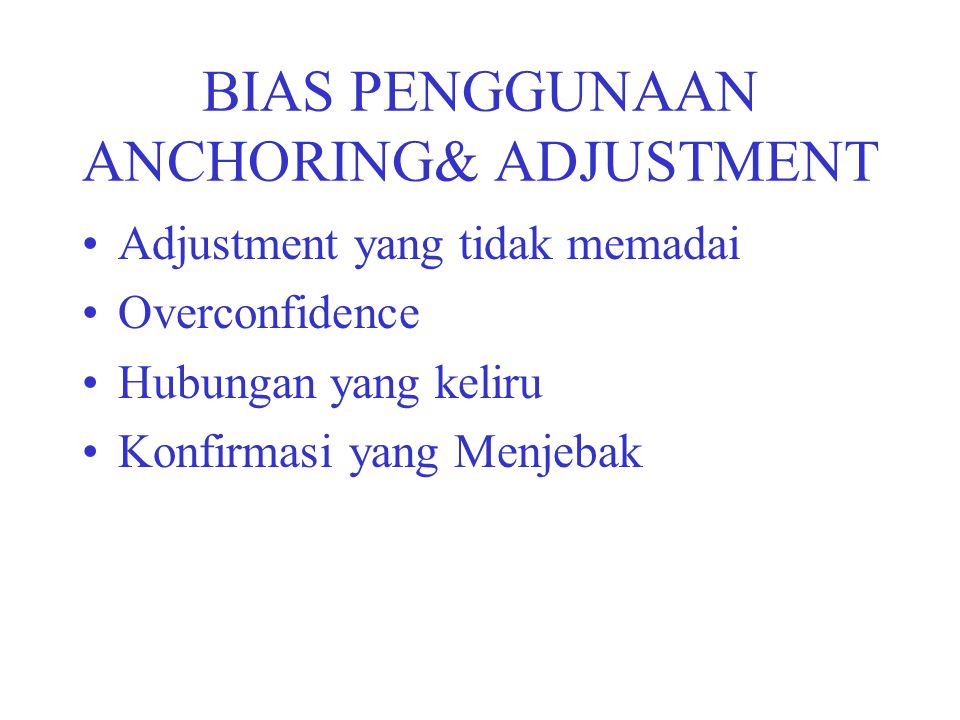 STRATEGIES FOR MANAGER Warning about the possibility of bias Describing the direction of the bias Providing a dose of feedback Offering extended program of training to improve judgment.