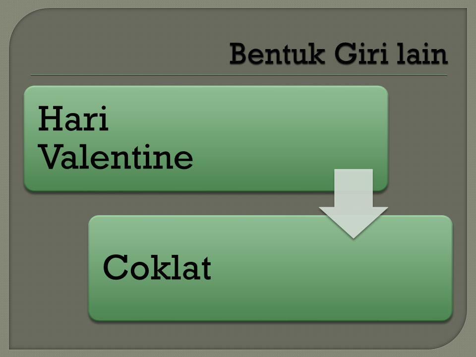 Hari Valentine Coklat
