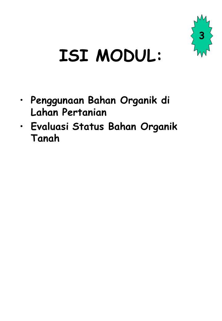 TUJUAN: Mengetahui arti penting bahan organik bagi kesuburan tanah, pertumbuhan, dan produksi tanaman. Mengetahui teknis uji cepat menggunakan senyawa