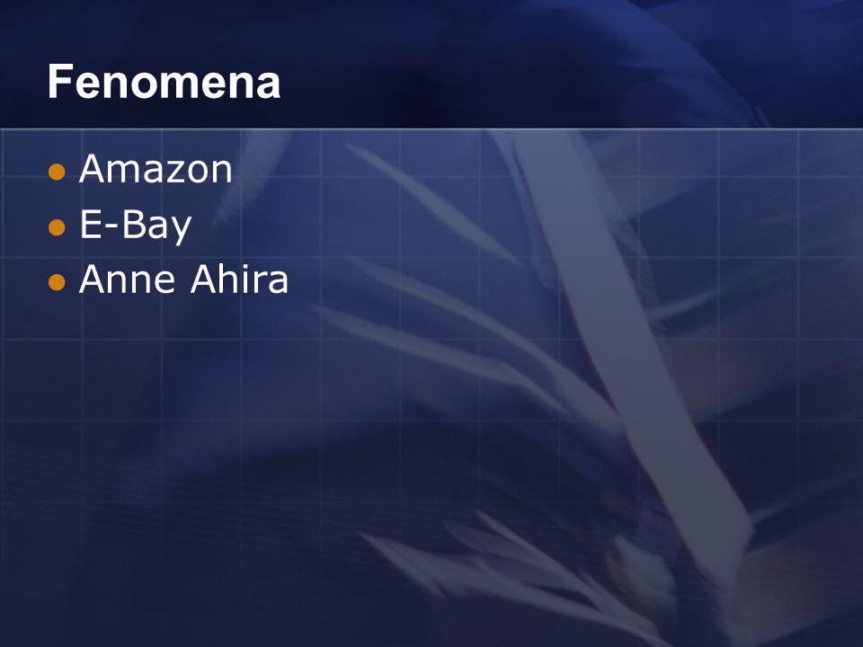 Fenomena Amazon E-Bay Anne Ahira