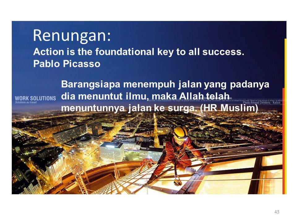 Berubah atau Punah Go International, Be World Class University Dengan kearifan lokal Lakukan perubahan sekarang juga.