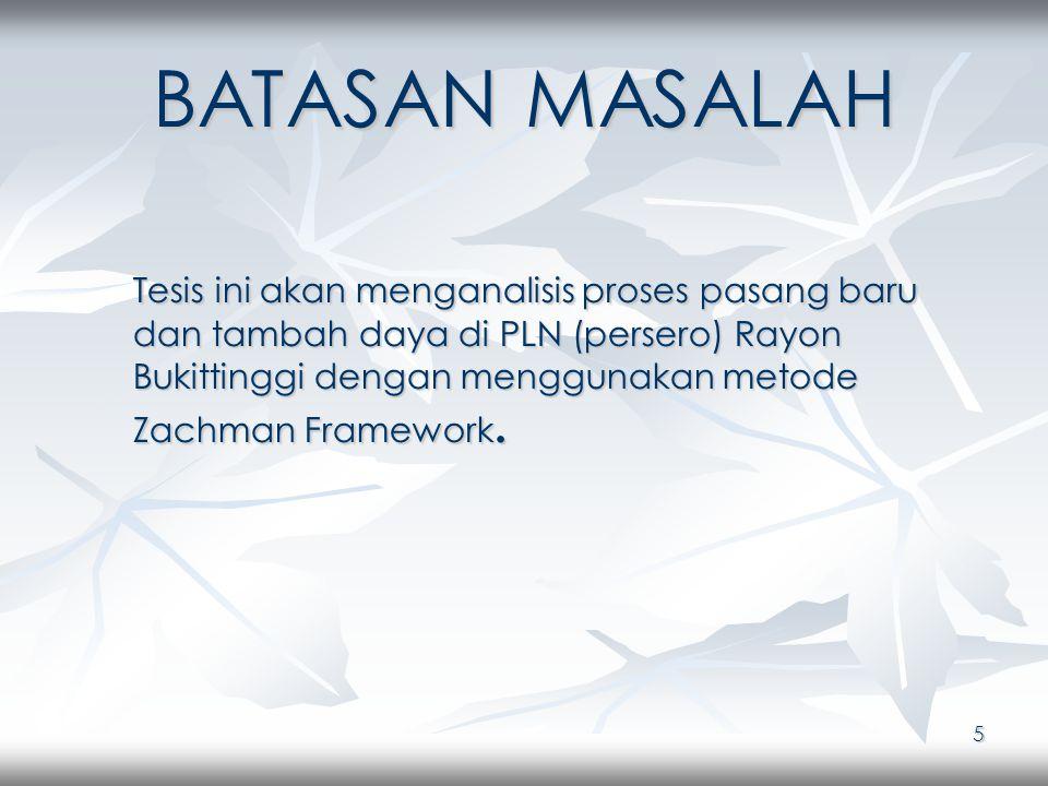 46 WHEN Pada kolom when akan dibahas mengenai kegiatan-kegiatan yang terjadi di lingkungan PT PLN (persero) Rayon Bukittinggi.
