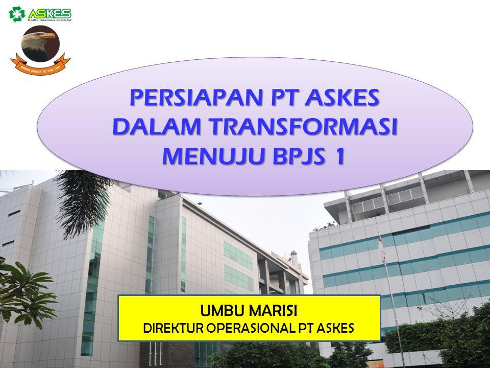 0 PT. Askes Indonesia (Persero) Jl. Letjen. Soeprapto - Cempaka Putih Jakarta Pusat, Indonesia - 10510 Ph. +62214212938 Fax. +62214212940 PERSIAPAN PT