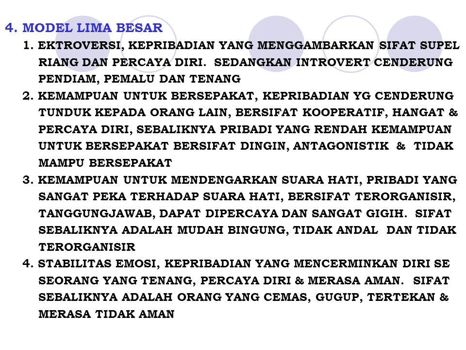 4.MODEL LIMA BESAR 1.