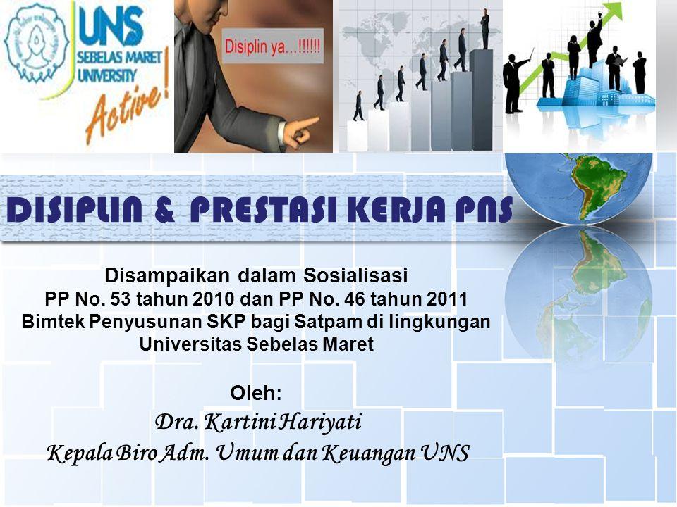 Penilaian prestasi kerja PNS adalah suatu proses penilaian secara sistematis yang dilakukan oleh pejabat penilai terhadap sasaran kerja pegawai (SKP) dan perilaku kerja PNS.