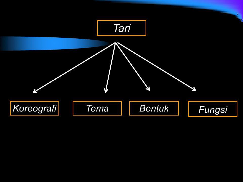 Tari Fungsi BentukTemaKoreografi