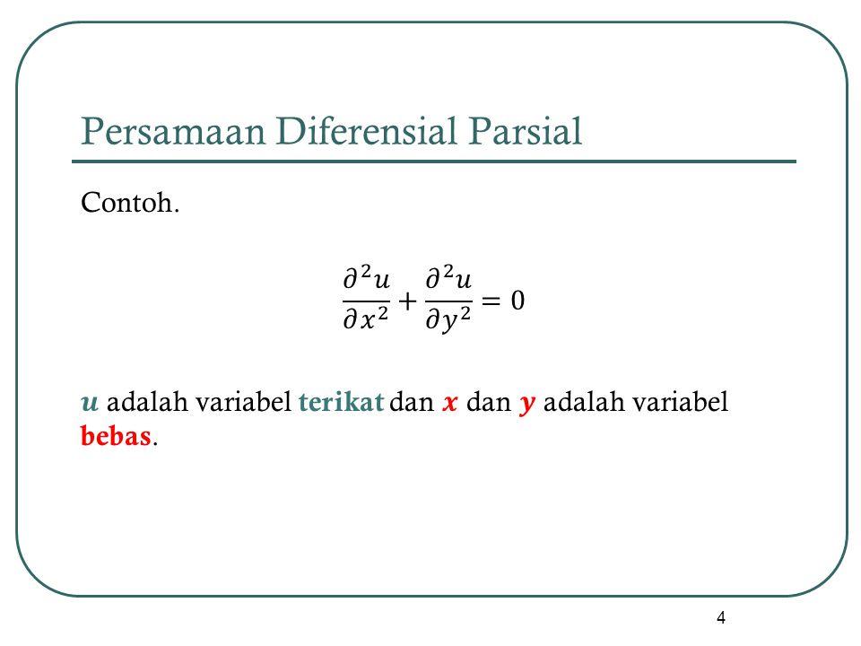 Persamaan Diferensial Parsial 4