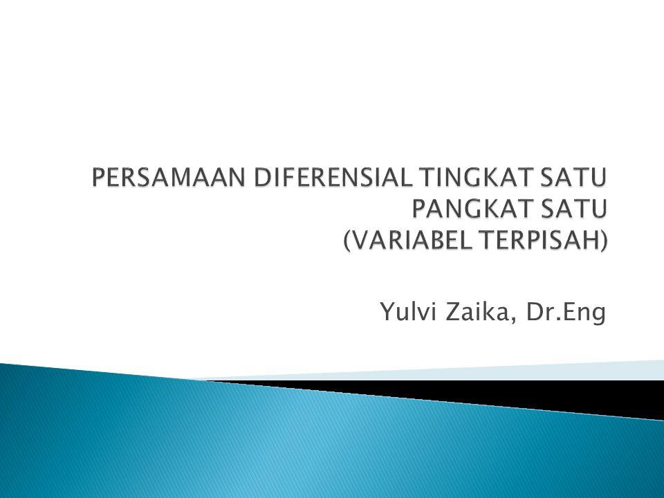 Yulvi Zaika, Dr.Eng