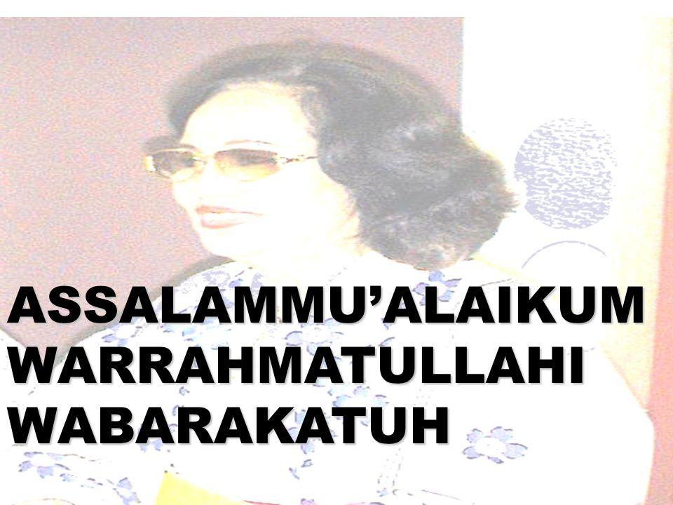 MUSLIMAH YANG BERDAYA ADALAH POTENSI BANGSA DAN SAHABAT LINGKUNGAN Oleh: Prof DR Ir Zoer'aini Djamal Irwan, MS Ketua Koordinasi MPPICMI Ketua Presidium FCMP Prof Arsitektur Lansekap Universitas Trisakti Jakarta Disampaikan pada Panel Diskusi pra Muktamat ICMI V 22 Okt 2010