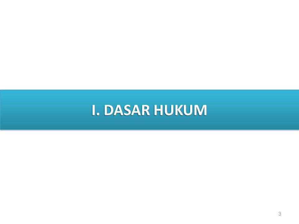 3 I. DASAR HUKUM