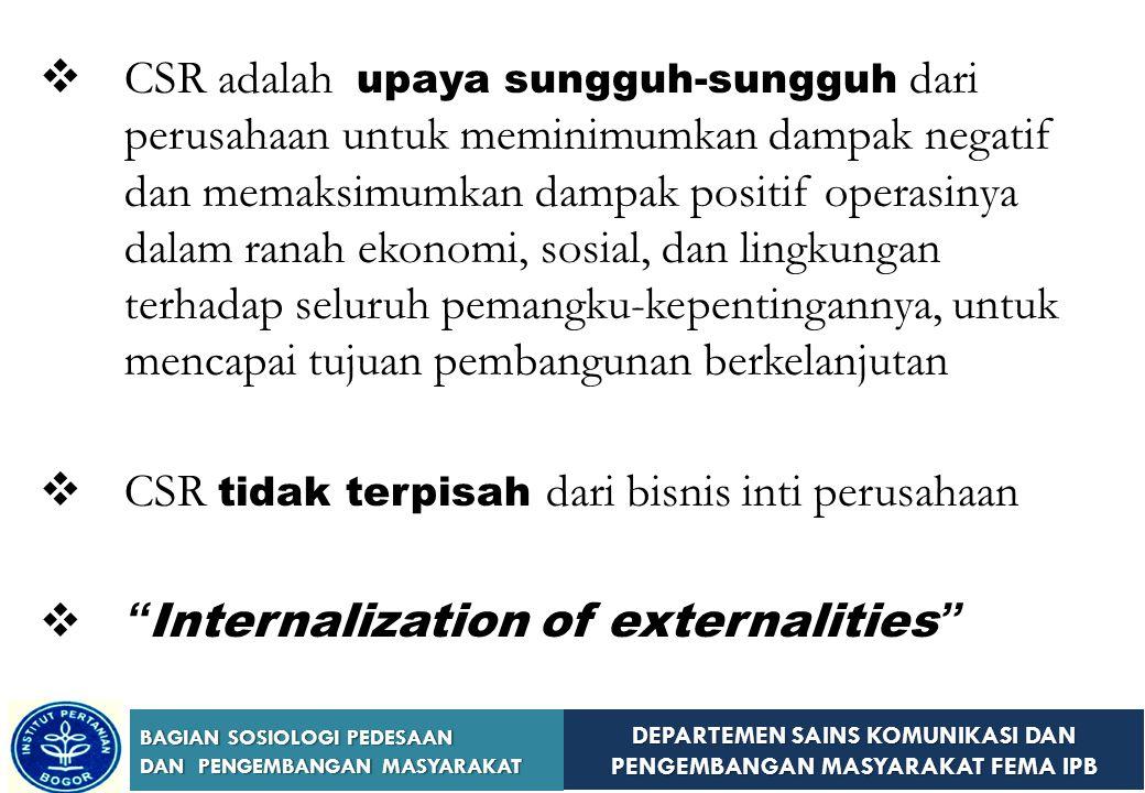 DEPARTEMEN SAINS KOMUNIKASI DAN PENGEMBANGAN MASYARAKAT FEMA IPB BAGIAN SOSIOLOGI PEDESAAN DAN PENGEMBANGAN MASYARAKAT 3. 3. Pengembangan Masyarakat d