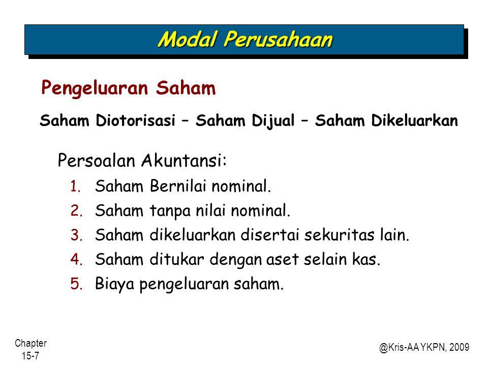 Chapter 15-18 @Kris-AA YKPN, 2009 Seandainya.
