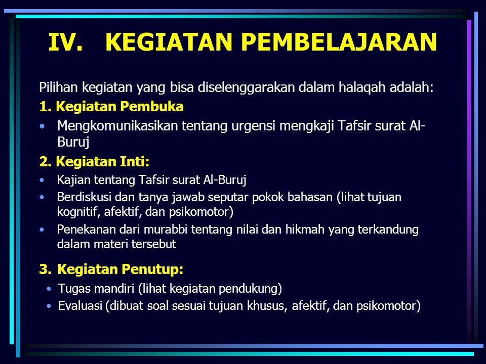 Topik masalah yang dibicarakan secara langsung oleh surah ini adalah peristiwa Ashhabul-Ukhdud.
