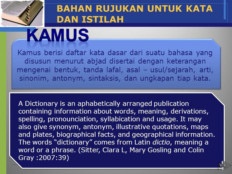 JENIS BIBLIOGRAFI www.themegallery.com Company Name Memuat informasi kepustakaan dari dokumen yang terbit tanpa pembatasan waku.