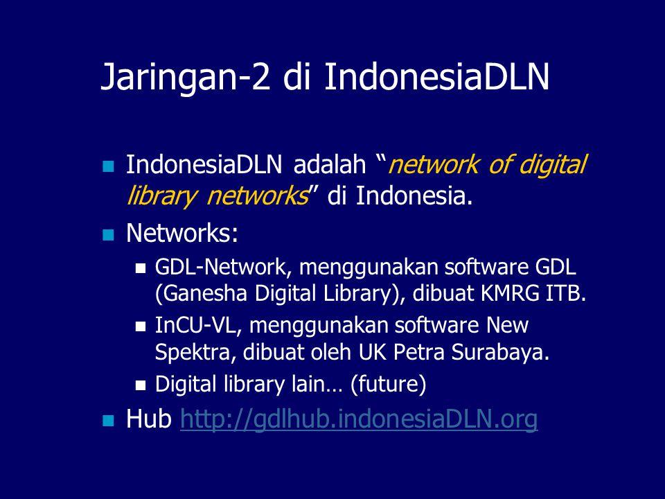 IndonesiaDLN, dimana. Sekretariat di KMRG, Perpustakaan Pusat ITB.