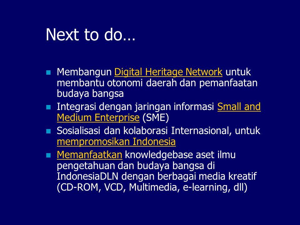 Rencana IndonesiaDLN Mendatang…