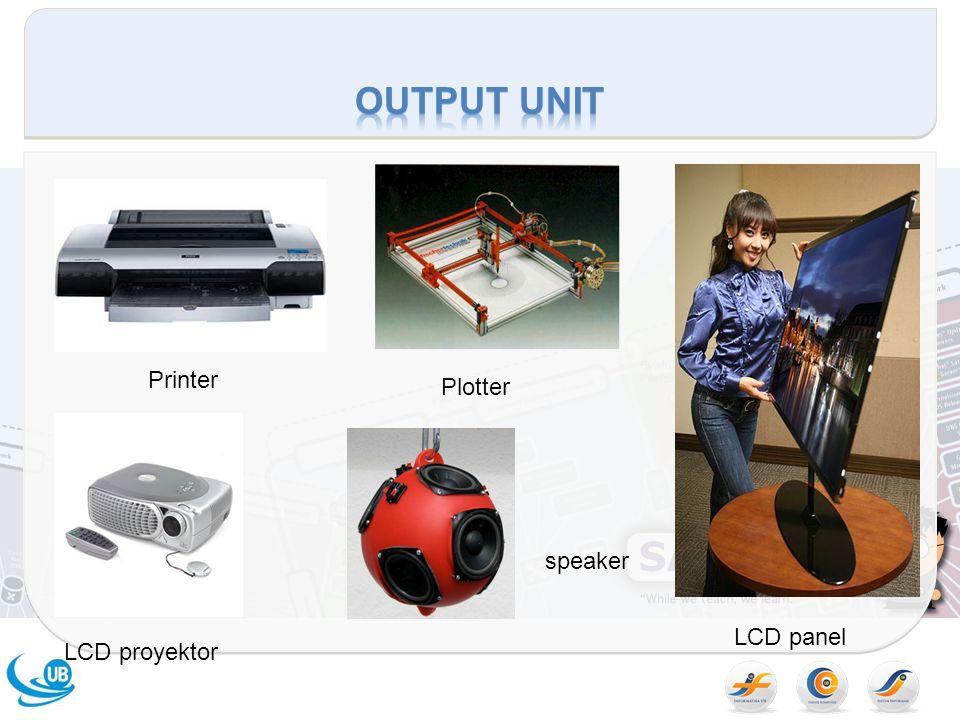 Printer Plotter LCD panel LCD proyektor speaker