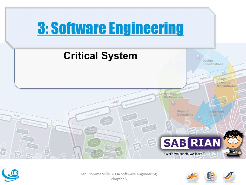 3: Software Engineering Critical System ian sommerville 2004 Software engineering chapter 3