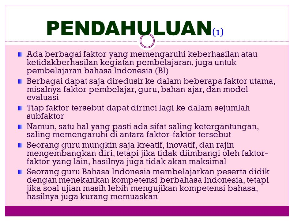 MODEL EVALUASI PEMBELAJARAN BAHASA DAN SASTRA INDONESIA Burhan Nurgiyantoro FBS/PPs Universitas Negeri Yogyakarta Yogyakarta, 22 November 2010