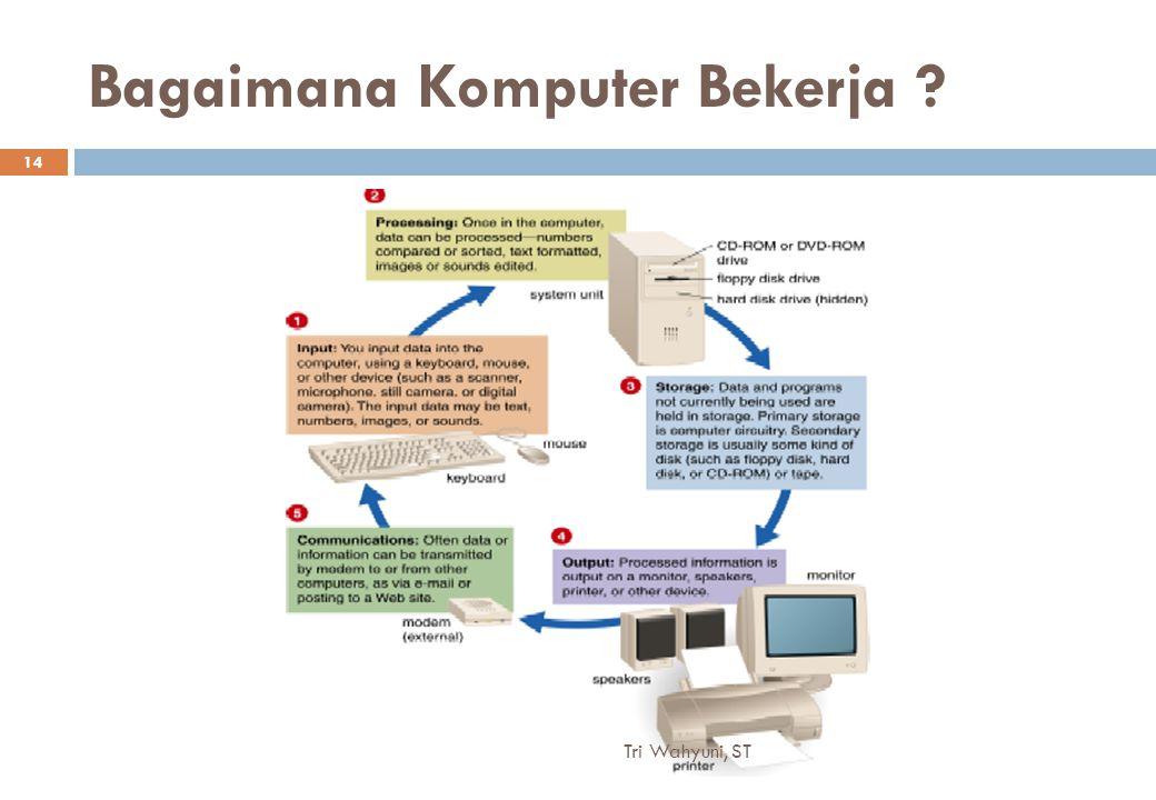 Bagaimana Komputer Bekerja 14 Tri Wahyuni, ST