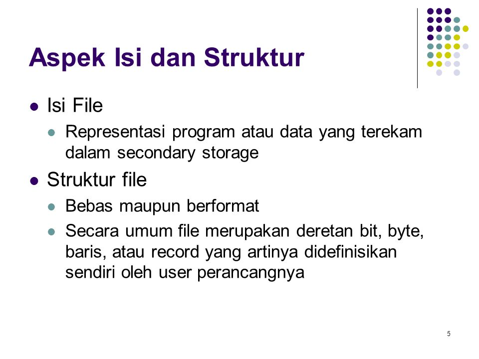 16 Contoh Index and Relative Files