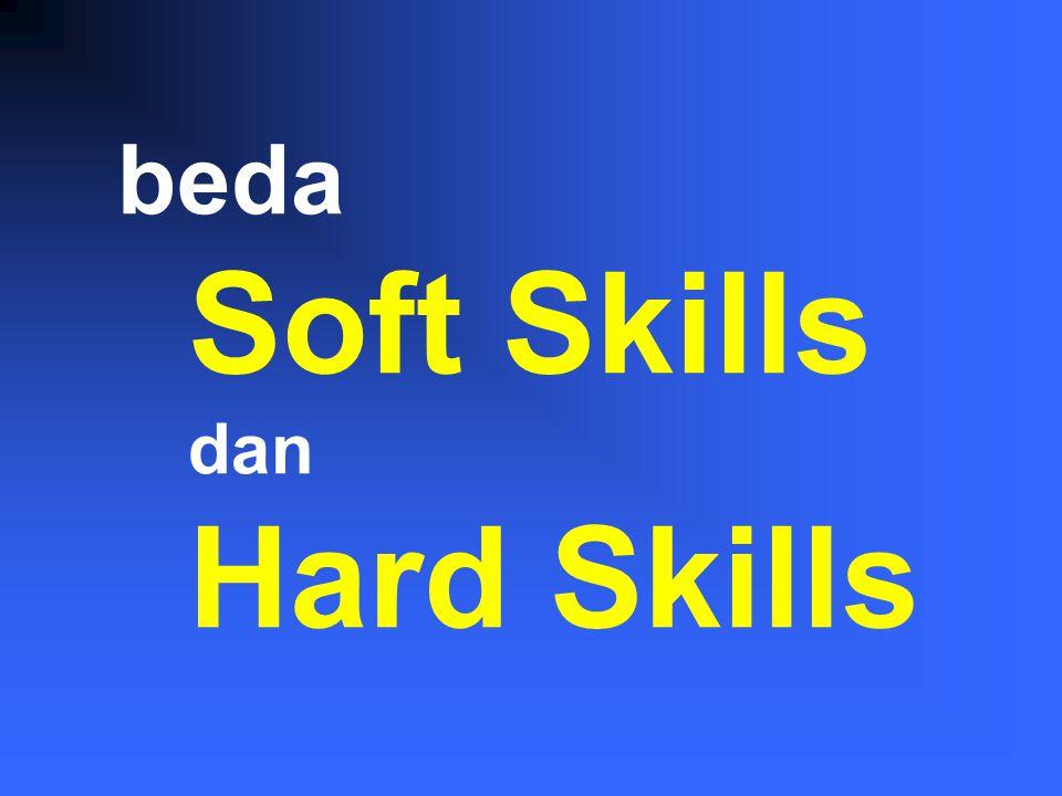 Perubahan … Kognitif (pengetahuan) Afektif (sikap) Motorik (keterampilan) motorik kognitif afektif Hard skills .