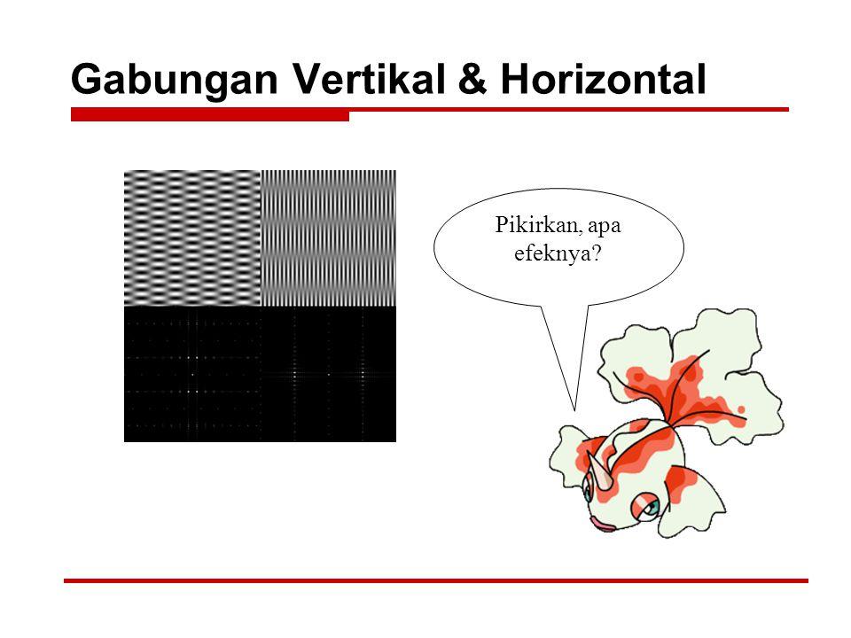 Gabungan Vertikal & Horizontal Pikirkan, apa efeknya?