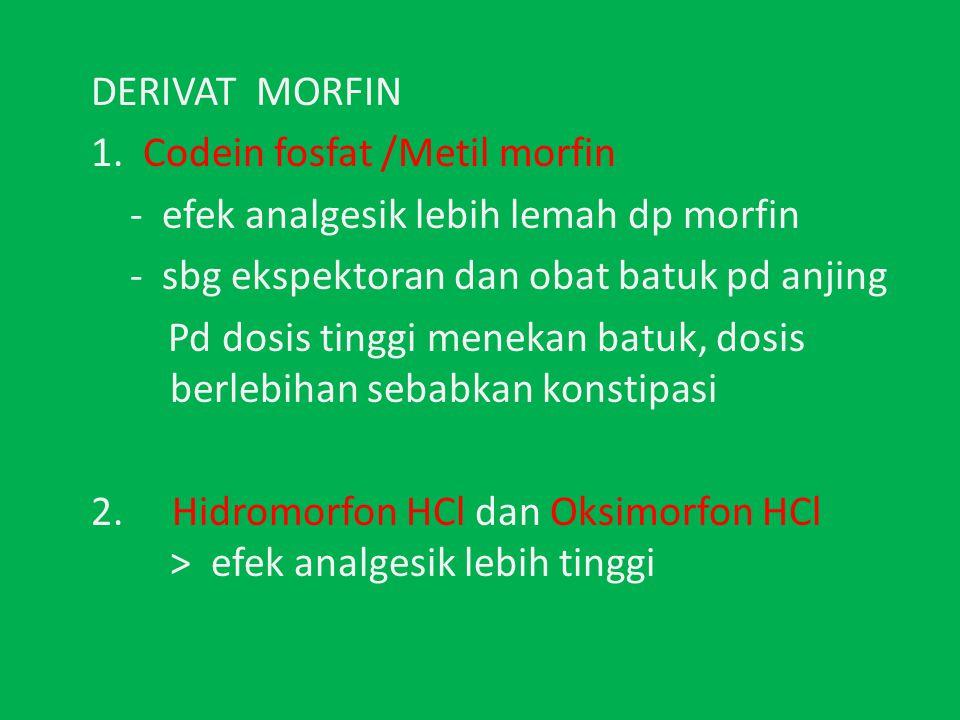 DERIVAT MORFIN 1.